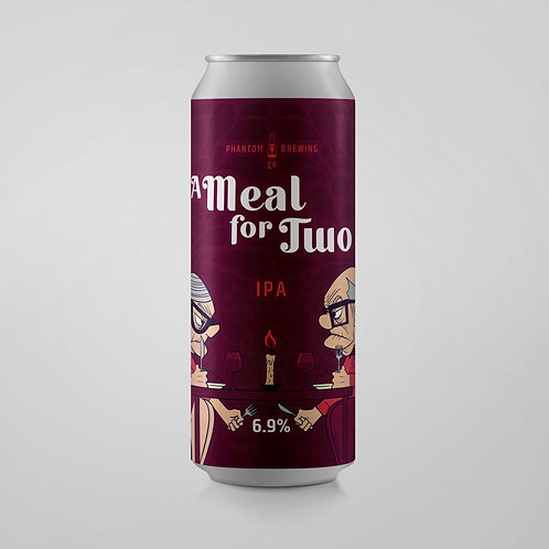 Phantom Brewing A Meal for Two Juicy Hazy IPA