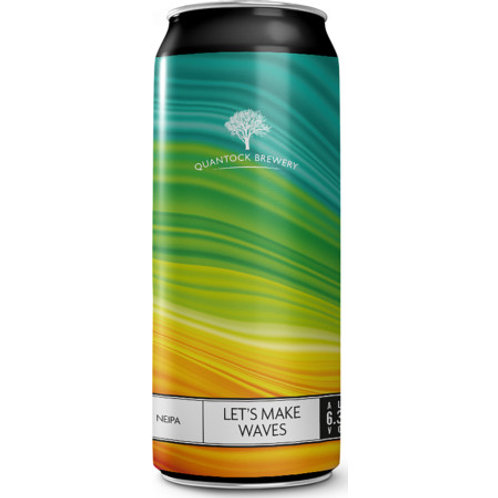 Quantock Brewery Let's Make Waves NEIPA