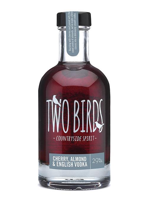 Two Birds Cherry, Almond Vodka 20cl