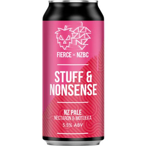 Fierce & NMBC Stuff & Nonsense Tropical Pale Ale