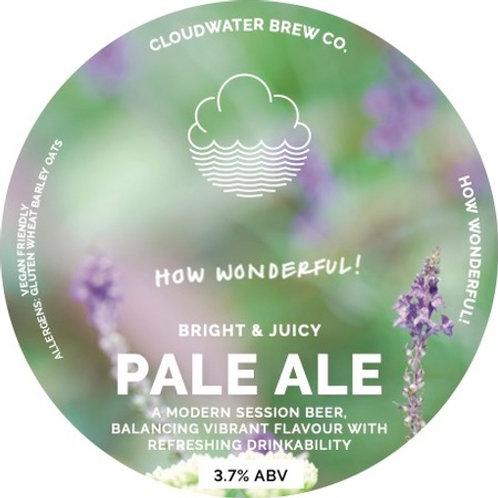 Tap 2:  Cloudwater How Wonderful! Juicy Pale Ale
