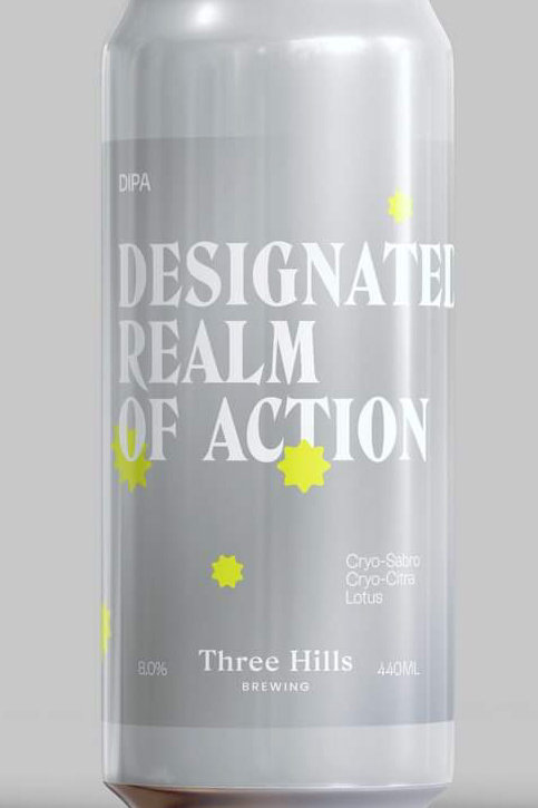 Three Hills Realm Of Action Juicy DIPA