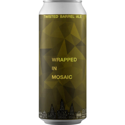 Twisted Barrel Wrapped in Mosaic NEIPA