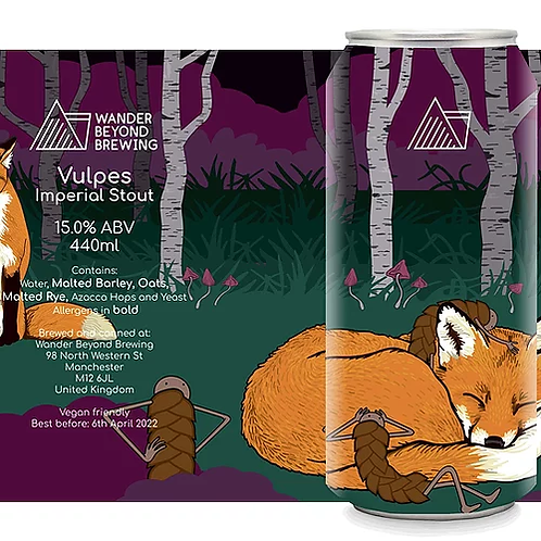 Wader Beyond Vulpes Imperial Stout