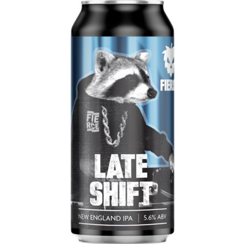 Fierce Beer Late Shift Hazy IPA