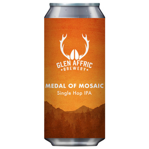 Glen Affric Brewery Medal of Mosaic IPA