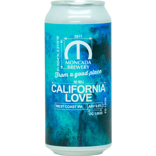 Moncada Brewery California Love Blueprint #51 West Coast IPA