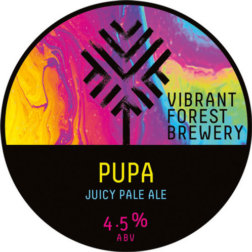 Tap 2:  Vibrant Forest Brewery Pupa Juicy Pale Ale