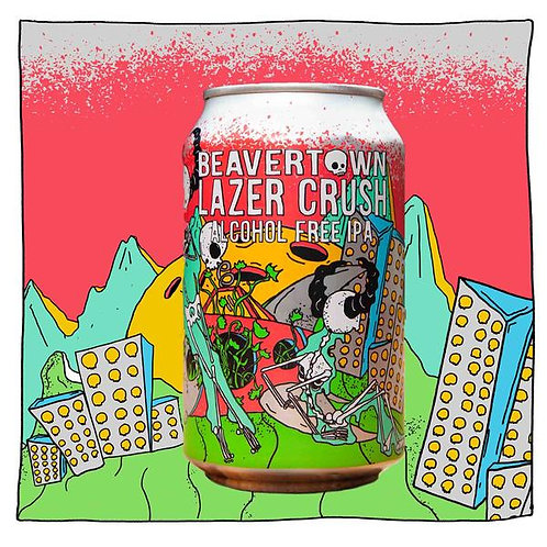 Beavertown - Lazer Crush Alcohol Free IPA 0.0%