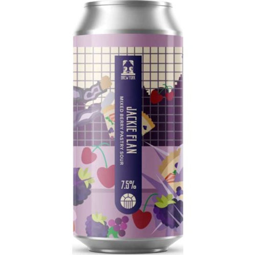Brew York Jackie Flan Mixed Berry Pastry Sour