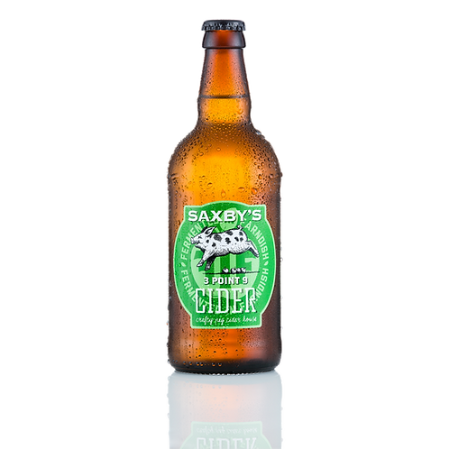Saxby's Cider 3 Point 9