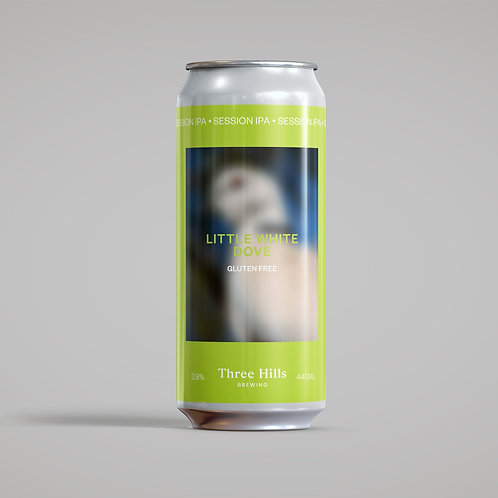 Three Hills Brewing Little White Dove Gluten Free Session IPA