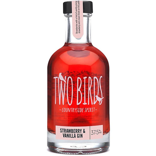 Two Birds Strawberry and Vanilla Gin 20cl