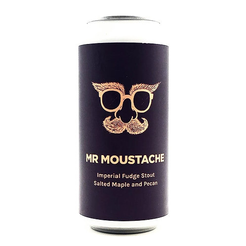 Pomona Island Mr Moustache Imperial Fudge Stout - Salted Maple and Pecan