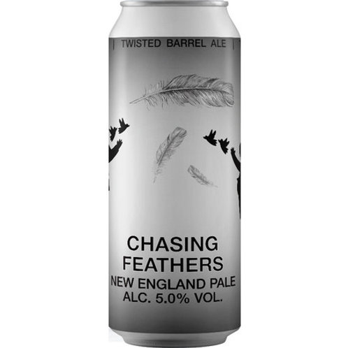 Twisted Barrel Chasing Feathers New England Pale