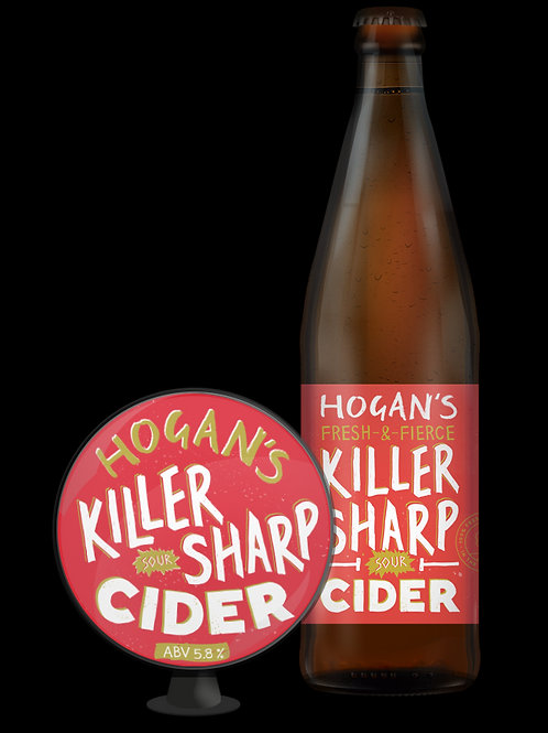 Hogans Killer Sharp Cider 500ml