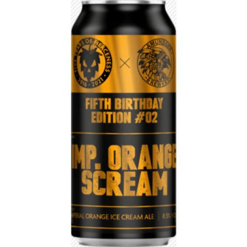 Fierce Beer Imperial Orange Ice Cream DIPA