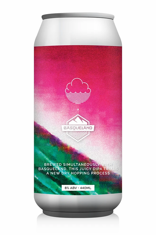 Cloudwater x Basqueland Brewing Six Degrees of Separation Hazy DIPA