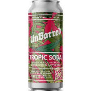 Unbarred Tropic Soda Mango, Passionfruit & Pineapple IPA