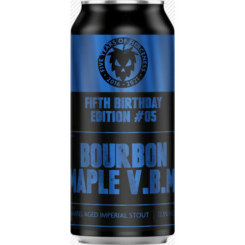 Fierce Beer Bourbon Maple VBM Maple Syrup Imperial Stout