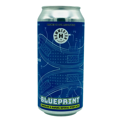 Hammerton Blueprint Chocolate & Banana Imperial Stout