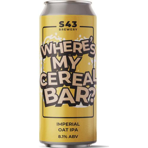 S43 Where's My Cereal Bar DIPA
