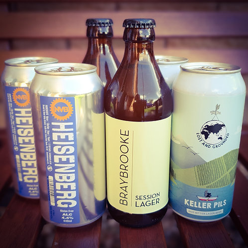 The Lager Lover Mixed Pack