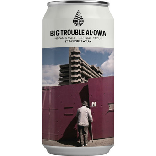 By The River x Wylam Big Trouble Al-owa Pecan Maple Twist Imperial Stout