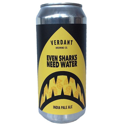 Verdant Even Sharks Need Water Hazy IPA