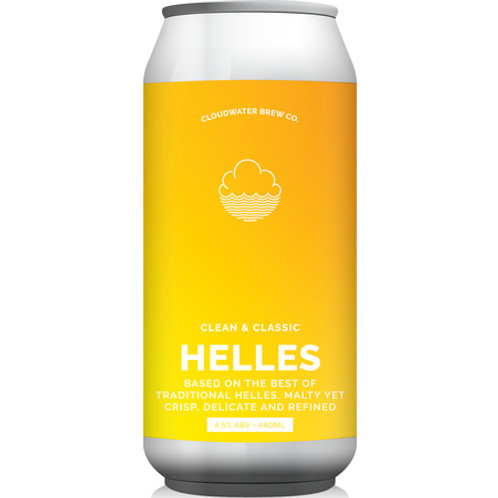 Cloudwater Helles Lager