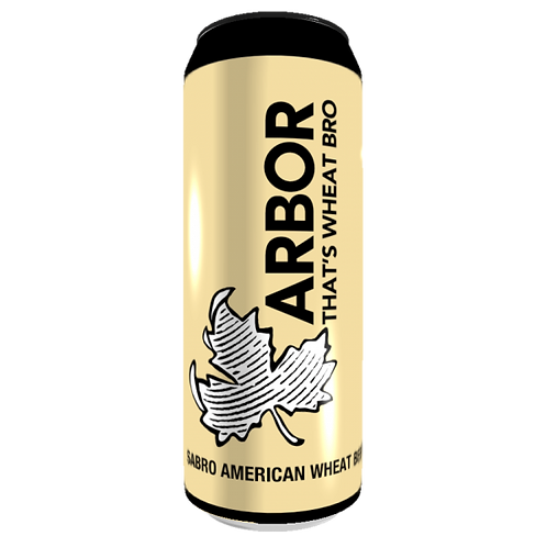 Arbor That's The Wheat Bro American Wheat Beer