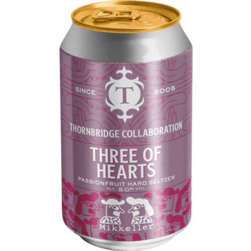 Thornbridge x Mikkeller Three of Hearts Hard Seltzer