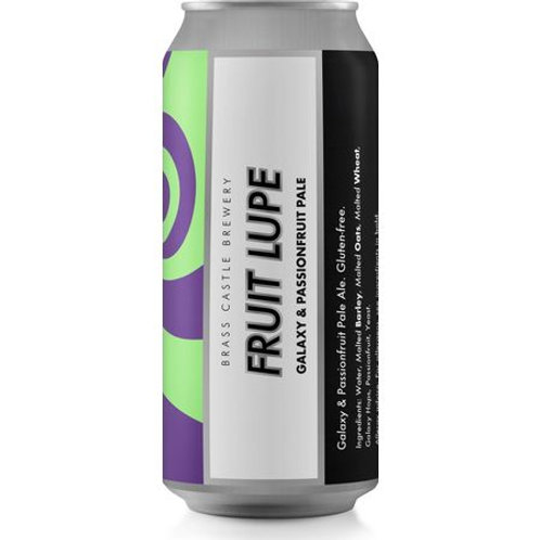 Brass Castle Fruit Lupe Galaxy & Passionfruit Pale