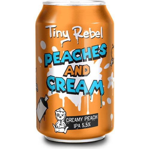 Tiny Rebel Peaches and Cream IPA