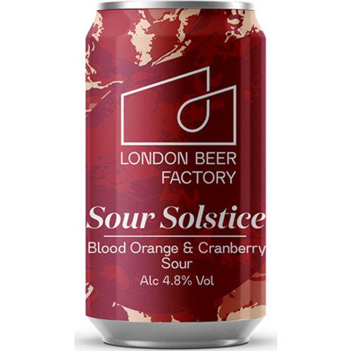 London Beer Factory Sour Solstice Blood Orange & Cranberry Sour