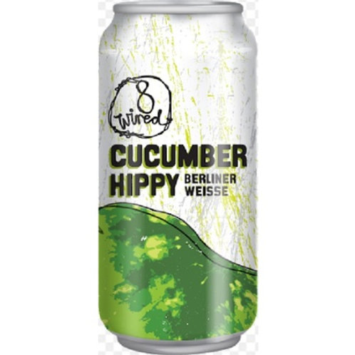 8 Wired Cucumber Hippy Berliner Weiss Sour