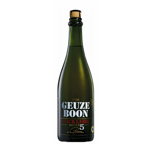Boon Geuze Black Label 5th Edition 75cl