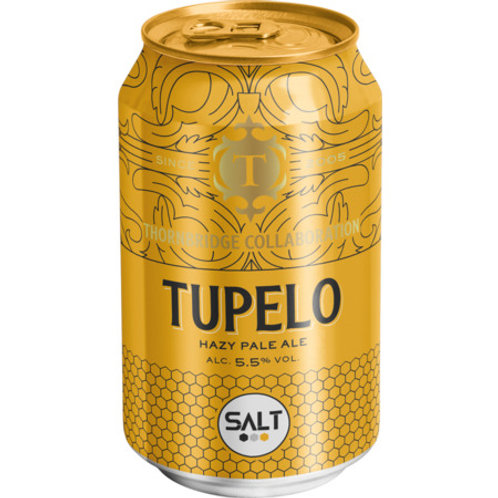 Thornbridge x Salt Factory Tupelo Hazy pale ale