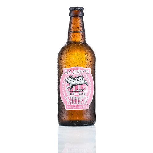 Saxby's Cider - Rhubarb