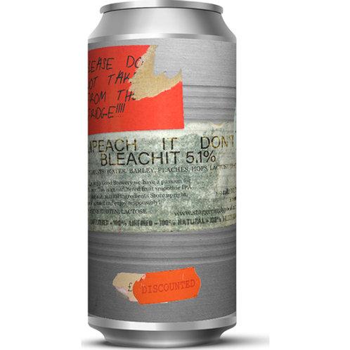 Staggeringly Good Impeach It Don't Bleach It Peach Pale Ale