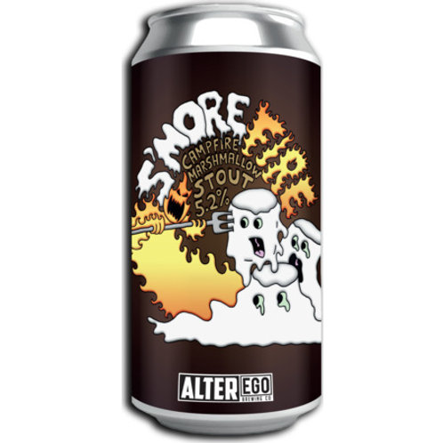 Alter Ego Brewing S'more Fire Marshmallow Stout