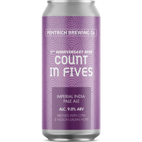 Pentrich Brewing Company Count In Fives DIPA