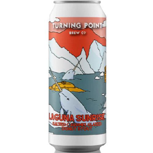 Turning Point Laguna Sunrise Salted Caramel Glazed Donut Stout