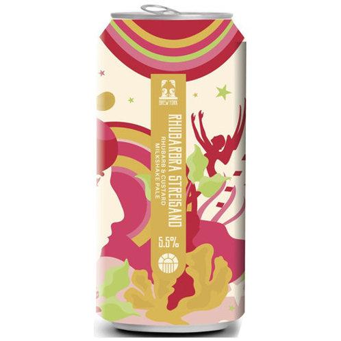 Brew York Rhubarbra Streisand Rhubarb & Custard Pale Ale