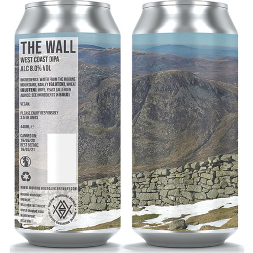 Mourne Mountains The Wall West Coast DIPA