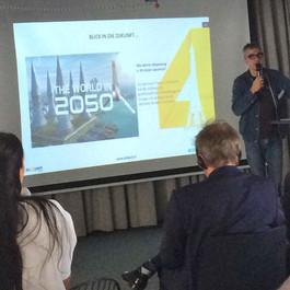 Vortrag von Fabrice Peltier