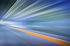graphicstock-train-moving-fast-in-tunnel