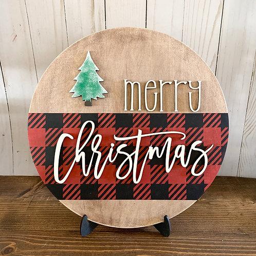DIY Merry Christmas Shelf Sitter