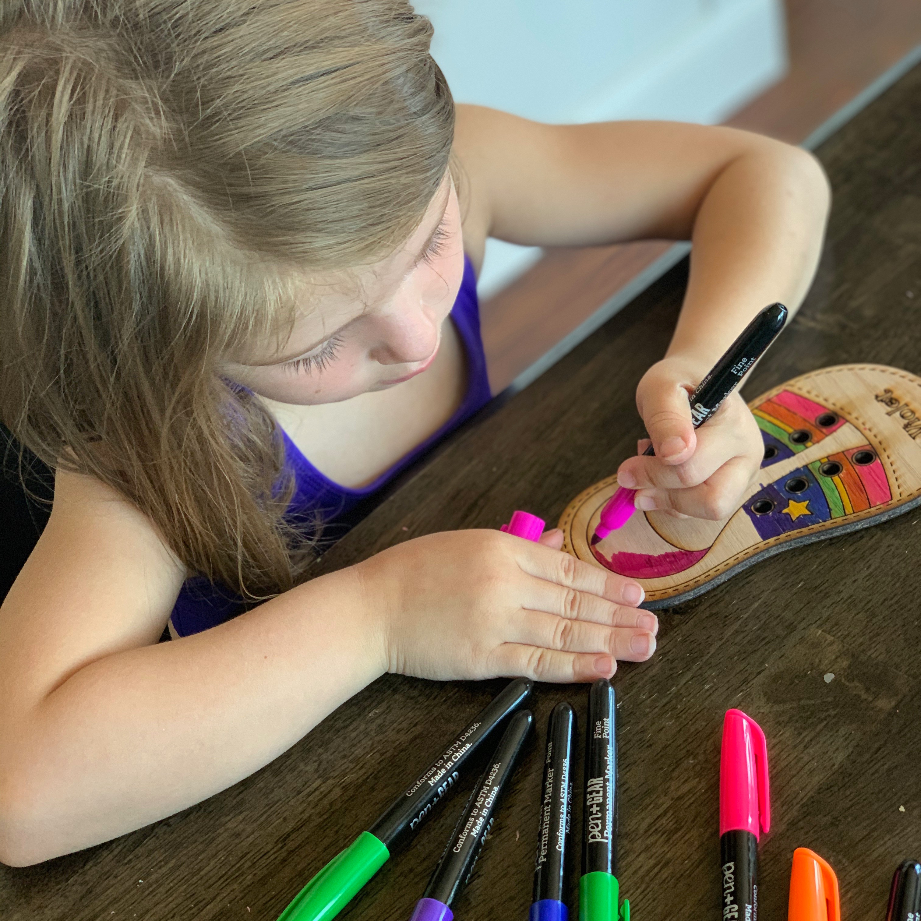 Kids Paint the Plank Day