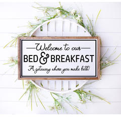 welcome to our b&b